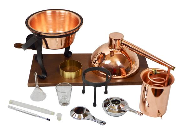Arabia 2L table-top still, with burner and steam sieve - Kopie